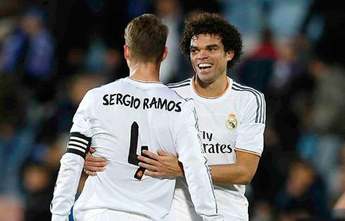 SERgio ramos and pepe